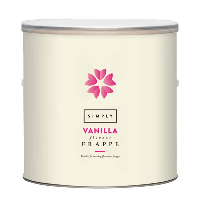 Simply Vanilla Frappe Powder  1.75Kg Tub