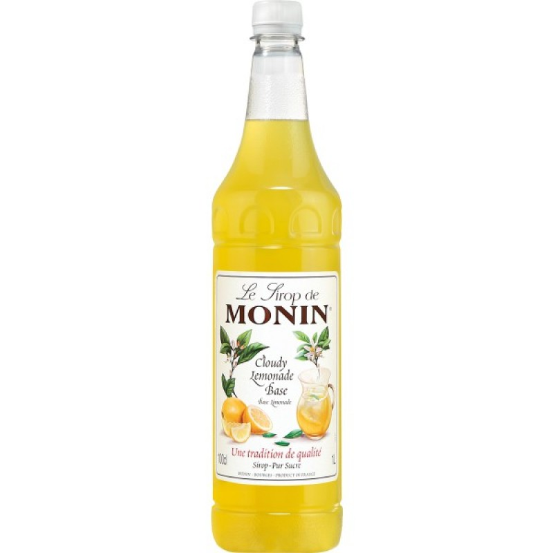 Monin Cloudy Lemonade Concentrate 1Lt