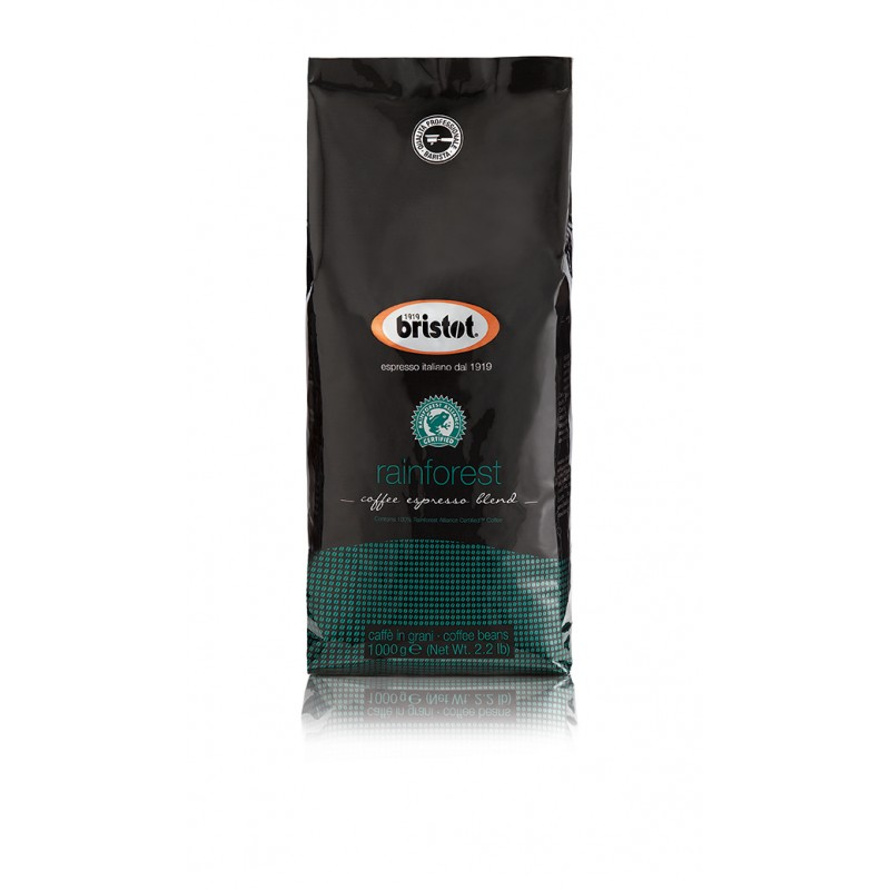 Bristot Rainforest Alliance Coffee Beans