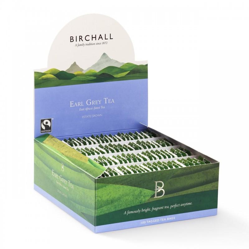 Birchall Earl Grey Tea Fairtrade (100 Tag Bags)