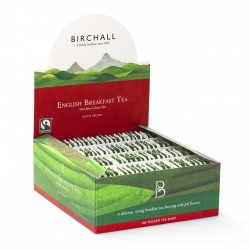 Birchall English Breakfast Tea Fairtrade (100 Tagged Bags)